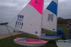 Two more dinghies arrive